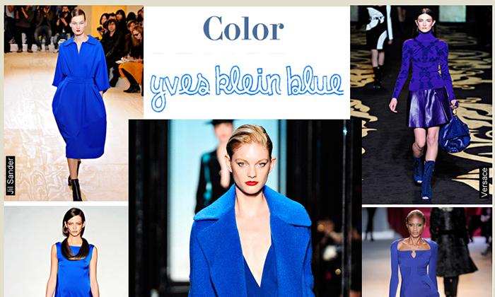 Color Yves Klein Blue