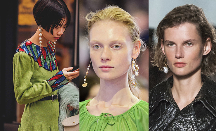 Pearl Earrings Trend
