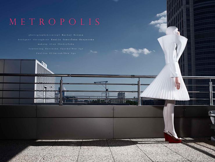 Metropolis fashion story
