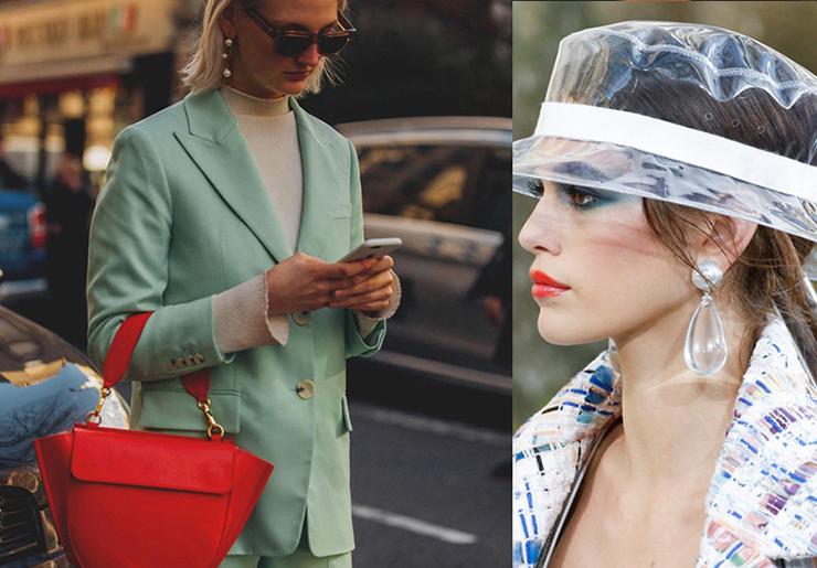 Pearl Earrings Trend
