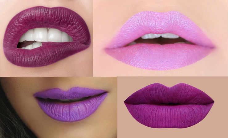 purple lipstick trend