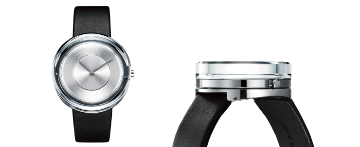 glass watch by issey miyake