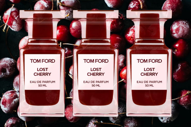 El aroma de la cereza de Tom Ford The Fashiongton Post