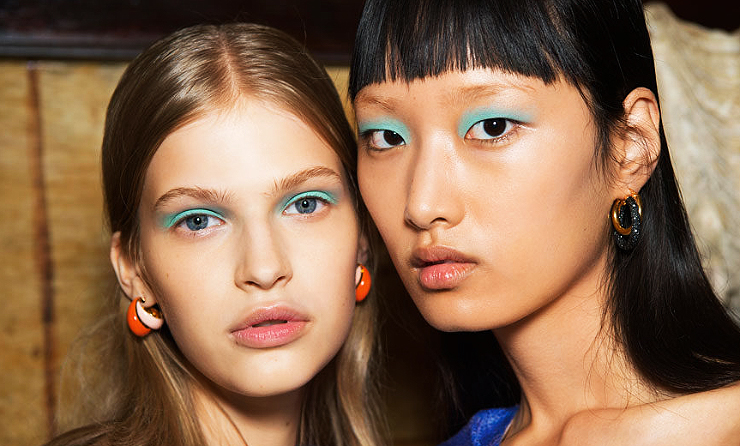 Bright Colors in Makeup
