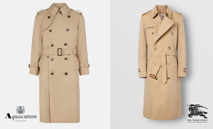 first trench coat