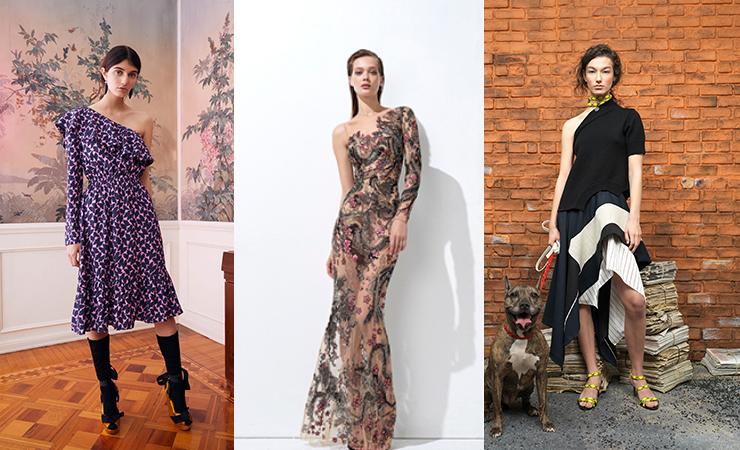 One Sleeve Dress trend