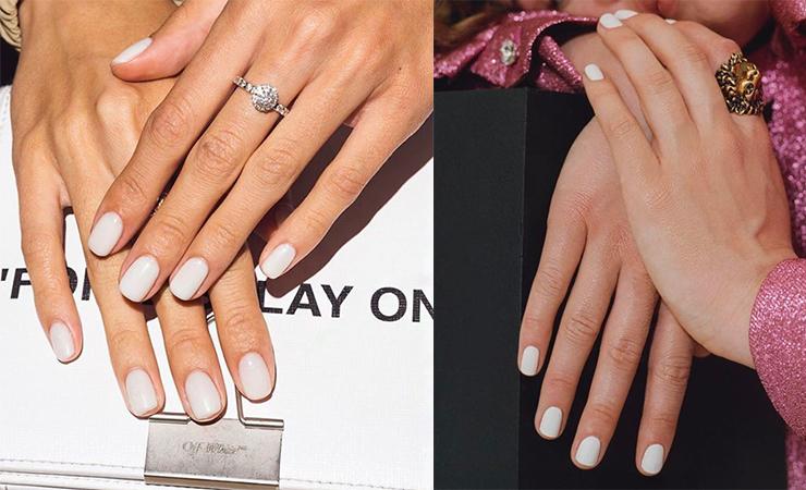 Snow Color nails