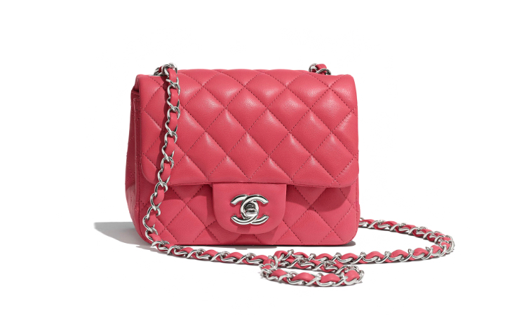 Lambskin bag Chanel