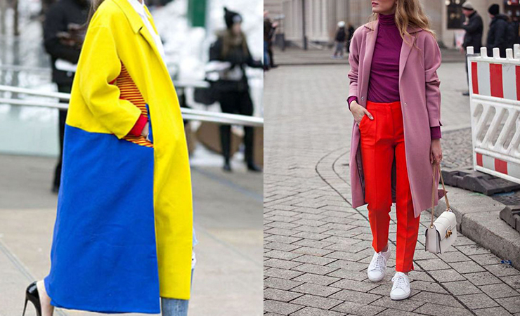 color blocking trend