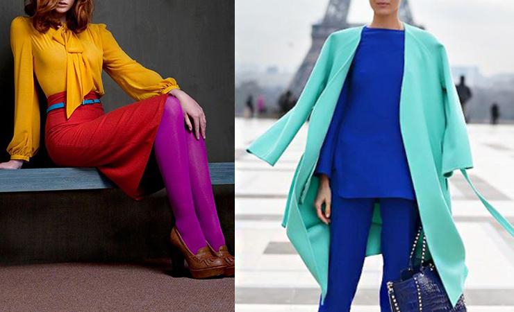 color blocking trend