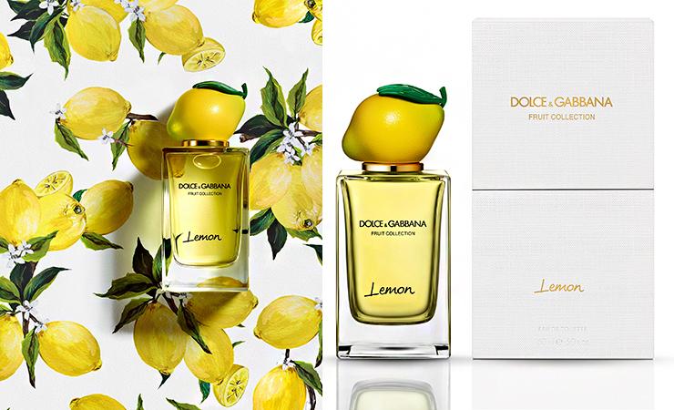 lemon fragrance dolce gabbana
