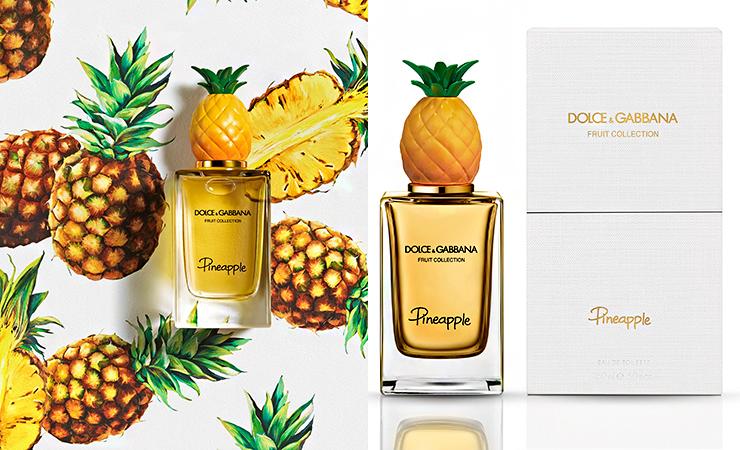 pineapple fragrance dolce gabbana