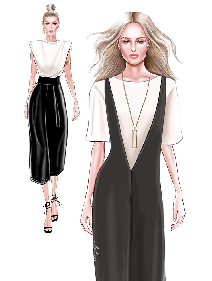 Veronika Akhmatova illustrations