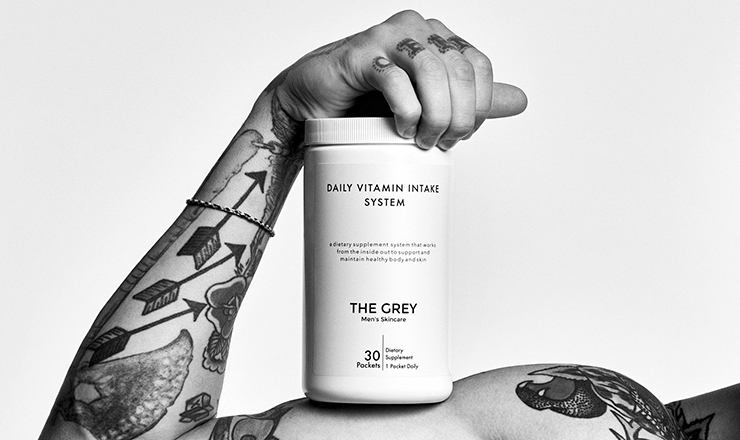the grey skincare founder