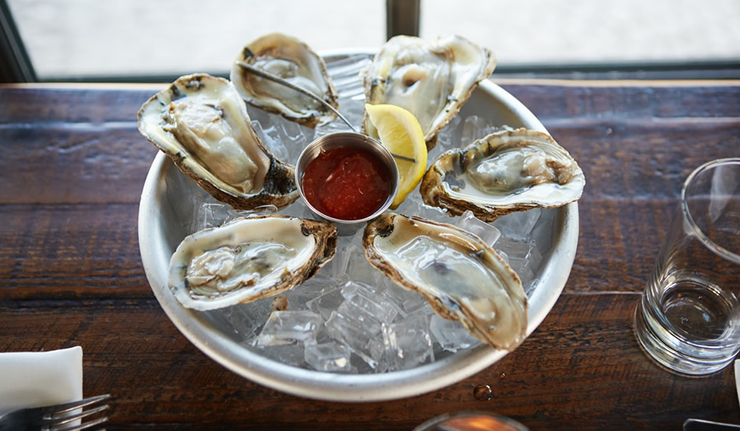 Oysters healthy food