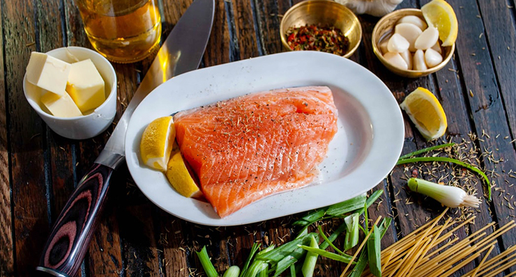 salmon food