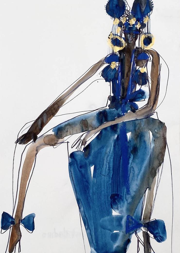 Jacky Blue ilustradora